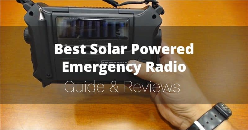 Best Solar Powered Emergency Radio