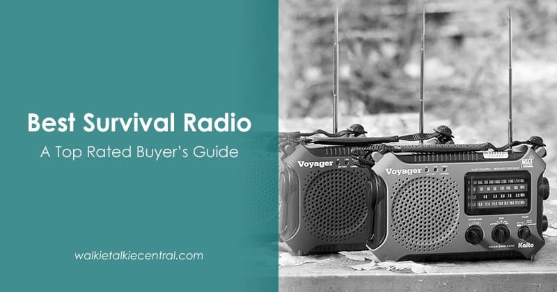 Best Survival Radio (Sep 2019) - Buyer's Guide and Reviews