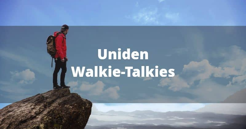 Uniden Walkie-Talkies