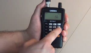 Using a Police Scanner