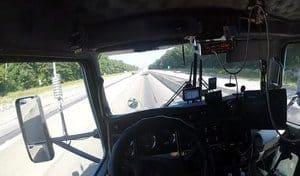 CB Radio In A Truck