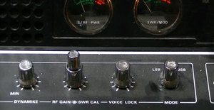CB Radio Close-Up