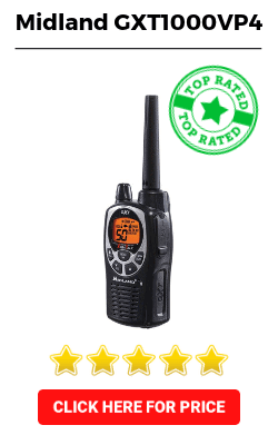 Best Walkie Talkie - Midland GXT1000VP4